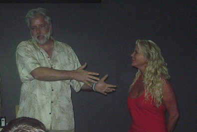 David Sams and Michelle