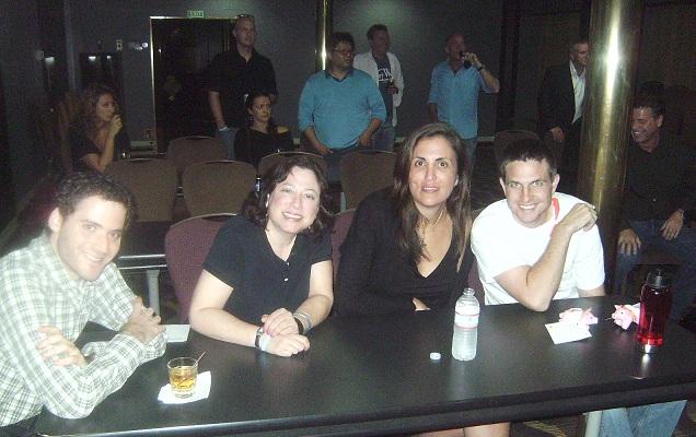 Taboo winning team - Kevin Fink, Karen Bernstein, Lori Anne Wardi and Adam T.