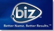 new .biz logo