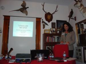 Annalisa Roger Founder of DotGreen Community, Inc speaks at RMDC