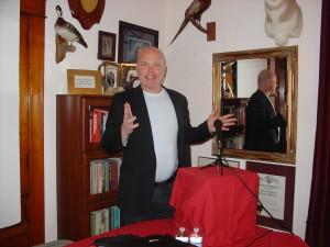 Rick Waters CEO of Webcast1 speaks at RMDC