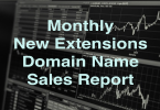 Monthly ngTLD Sales Report